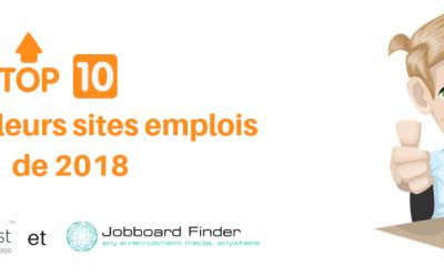 Le top 10 des meilleurs sites emplois 2018