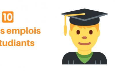 Les 10 meilleurs sites jobs étudiants